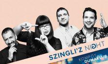 Szingli'z Night- Benk Dénes, Hajdú Balázs, Ráskó Eszter, Musimbe Dávid Dennis