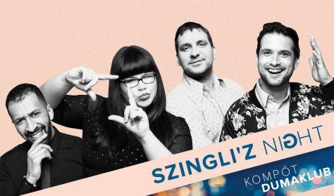 Szingli'z Night- Tóth Edu, Ráskó Eszter, Musimbe Dávid Dennis