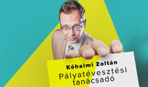 Nőnapi előadás: Pályatévesztési tanácsadó - Kőhalmi Zoltán önálló estje