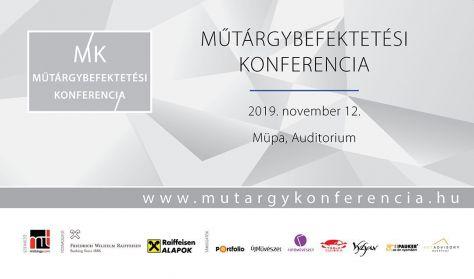Műtárgybefektetési Konferencia 2019.