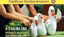 A három galiba liba - Márton napi kacagós játék