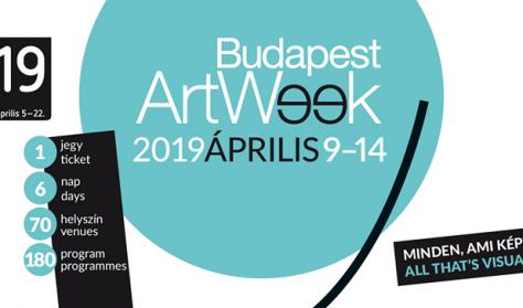 Budapest Art Week 6 napos diák/nyugdíjas bérlet / BTF 2019