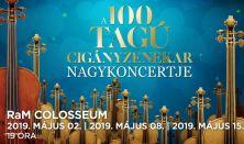 A 100 Tagú Cigányzenekar Nagykoncertje
