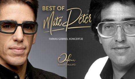 Koncert + Tapas tál: Best of Máté Péter - Farkas Gábriel estje