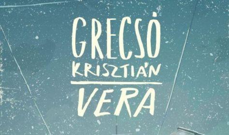 Grecsó Krisztián: Vera - könyvbemutató a Magvető Kiadóval