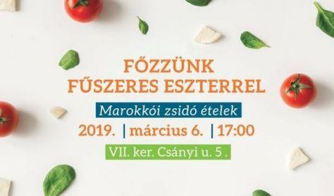 Főzzünk Fűszeres Eszterrel - Marokkói zsidó ételek