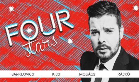 FOUR STARS - Janklovics, Kiss, Mogács, Ráskó, vendég: Musimbe Dennis