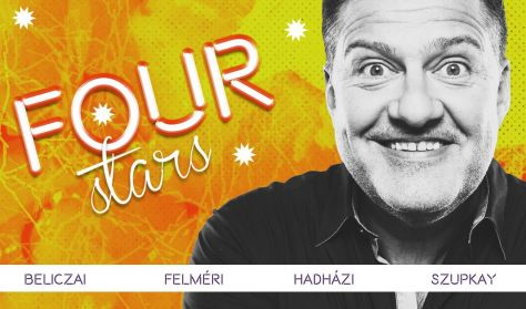 FOUR STARS - Beliczai, Felméri, Hadházi, Szupkay, vendég: Elek Péter
