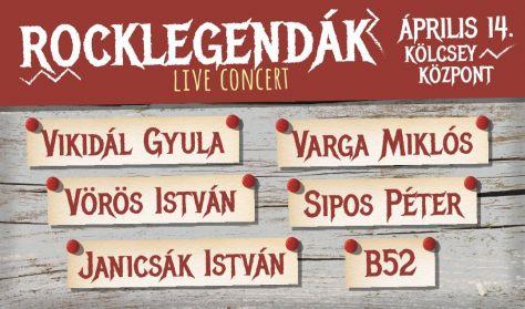 Rocklegendák: B52, Janicsák István, Sipos Péter, Varga Miklós, Vikidál Gyula, Vörös István