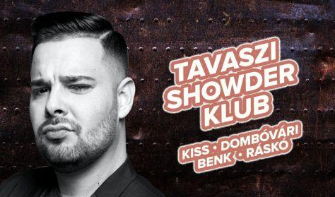 Showder Klub felvétel - Kiss Ádám, Dombóvári István, Benk Dénes, Ráskó Eszter