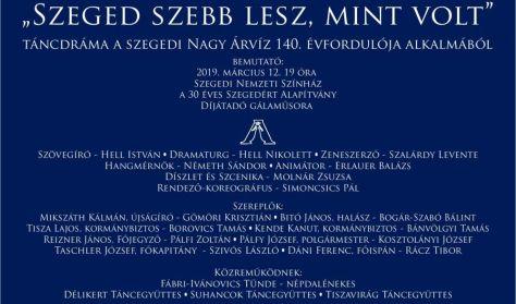 """Szegedért Alapítvány: """" Szeged szebb lesz, mint volt."""""""