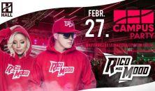 CAMPUS Party-Rico x Miss Mood//DE hallgatói