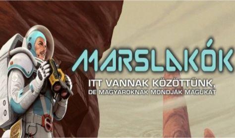 _Marslakók – tudományos talkshow Vecsei H. Miklóssal