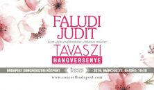 Faludi Judit tavaszi hangversenye