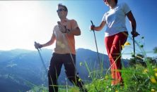 Nordic walking túrák Normafán