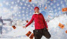 SNOW ZORB – Gurulás- és bátorságpróba az óriás gyomrában