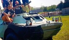 BRDM-2 HARCKOCSI VEZETÉS