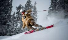 Erdei síelés és snowboardozás a Mátrában