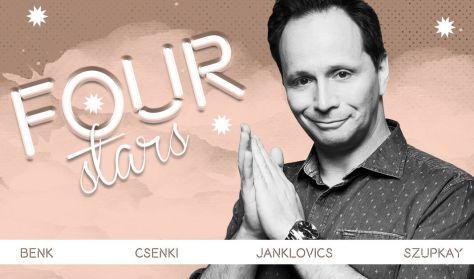 FOUR STARS - Benk, Csenki, Janklovics, Szupkay, vendég: Ács Fruzsina