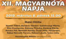 XII. Magyar Nóta Napja