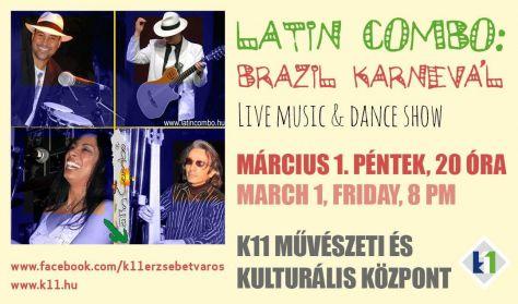 LATIN COMBO koncert: Brazil karnevál