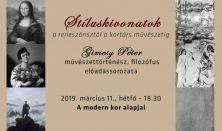 A modern kor  alapjai - a XIX. század művészete Gimesy Péter művészettörténész előadássorozata