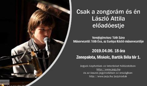 Csak én és a zongorám - László Attila előadóestje