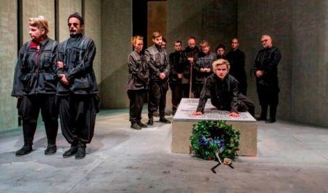 Borisz Davidovics síremléke - Újvidéki Színház