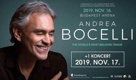 ANDREA BOCELLI 2019.