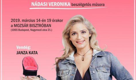 KED-VEN-CEK - Nádasi Veronika beszélgetős műsora - Vendég: Janza Kata