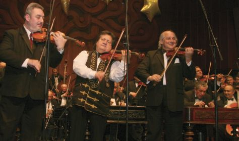 """MUSIC-WINE"" Gala concert of the 100 Member Gypsy Orchestra"
