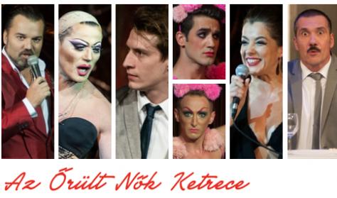 AZ ŐRÜLT NŐK KETRECE - musical két részben - A Kultúrbrigád és az Átrium előadása (15 éven felül!)