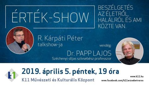 Érték Show - DR. PAPP LAJOS