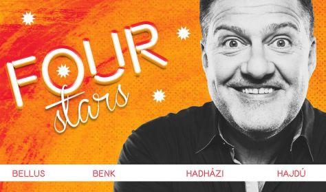 FOUR STARS - Bellus, Benk, Hadházi, Hajdú, vendég: Musimbe Dávid Dennis