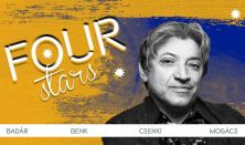FOUR STARS - Badár, Benk, Csenki, Mogács, vendég: Elek Péter