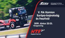 Truck Fest Kamion Európa Bajnokság és Fesztivál Hétvége (Szombat-Vasárnap)