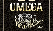 OMEGA KONCERT vendég: Credence Clearwater Revived (USA)