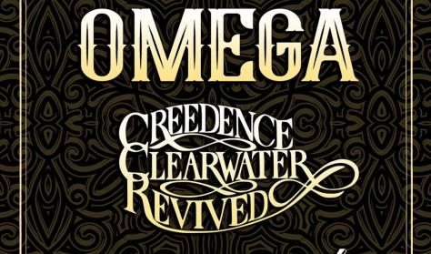 OMEGA KONCERT vendég: Credence Clearwater Revived (USA)