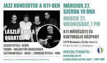 LÁSZLÓ ATTILA QUARTET koncert