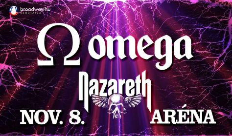 OMEGA koncert - vendég NAZARETH