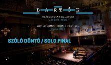 Bartók Világverseny és Fesztivál - Zongora 2019 / szóló döntő
