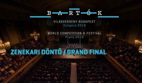 Bartók Világverseny és Fesztivál - Zongora 2019 / zenekaros döntő