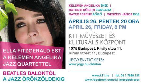 ELLA FITZGERALD EST - Kelemen Angelika Quartet