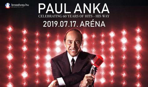 PAUL ANKA koncert - CELEBRATING 60 YEARS OF HITS - HIS WAY