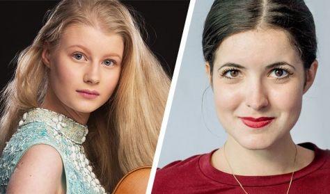 Cosima Soulez-Lariviere és Dina Ivanova - Versenygyőztesek kamaraestje