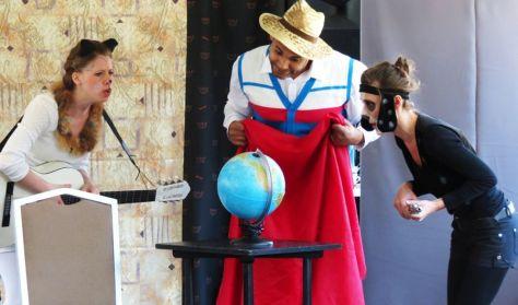 Szerdai szünidei színházak - Utazás a világ körül