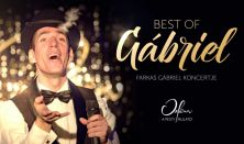 Koncert+Tapas tál: Best of Gábriel – Farkas Gábriel koncertje