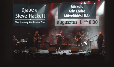 Djabe & Steve Hackett (Genesis) koncert