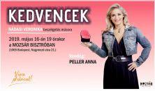 KED-VEN-CEK- Nádasi Veronika beszélgetős műsora / Vendég: Peller Anna