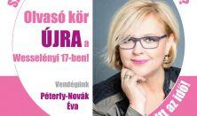 Olvasó kör Péterfy-Novák Évával
